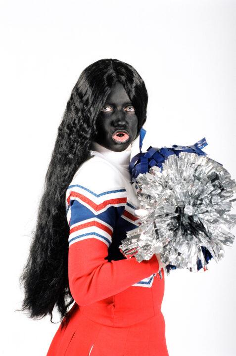 Frau Cheerleader